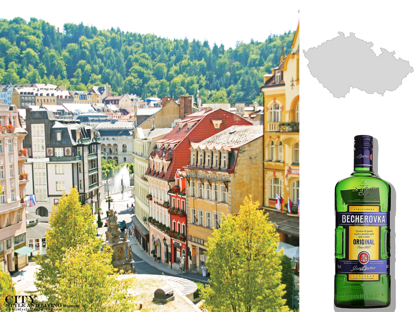 City Style and Living Magazine Fall 2018 Travel Souvenirs Czech republic spirit