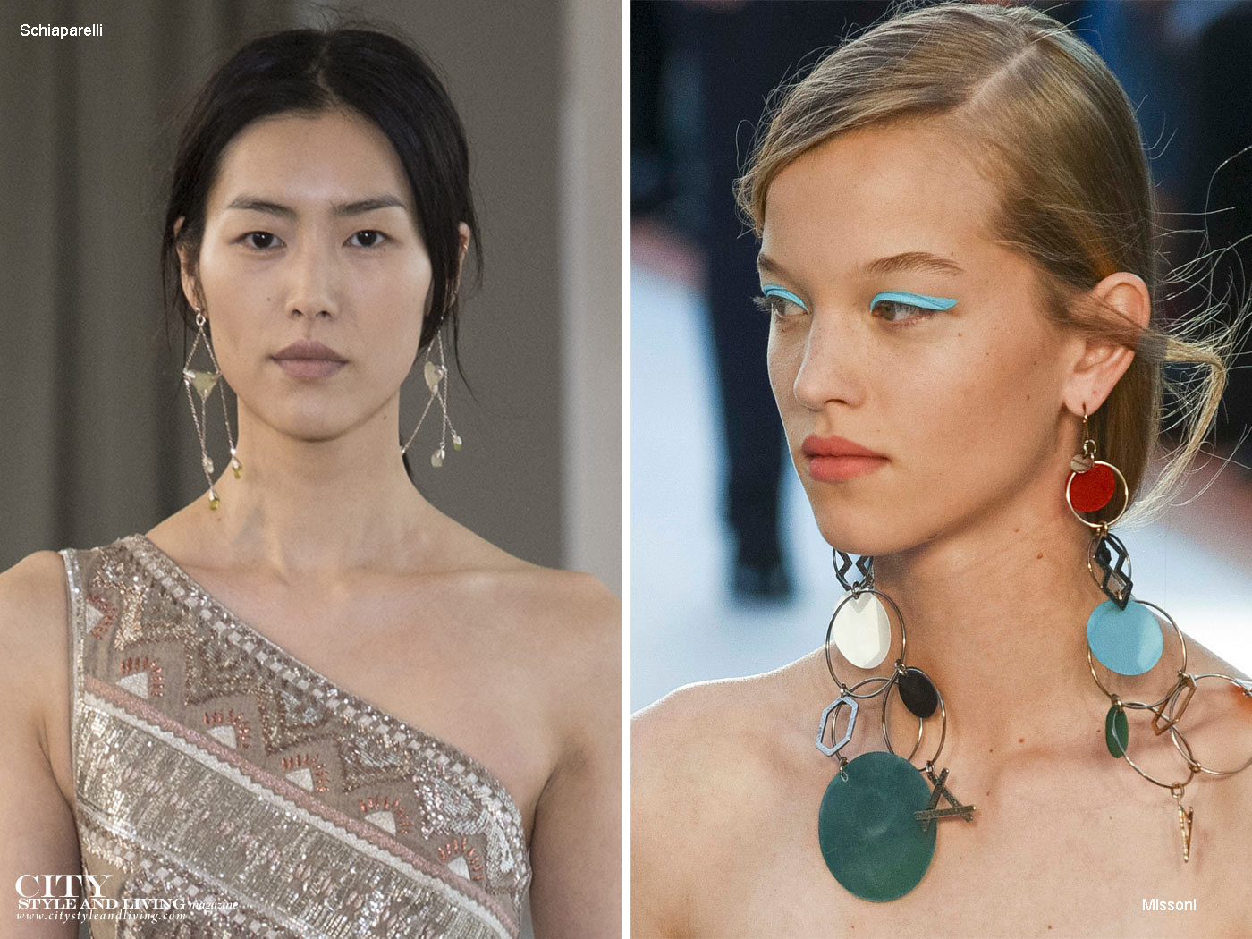City Style and Living Magazine Summer 2018 Earrings trends