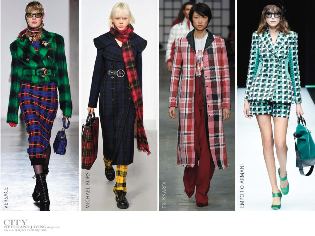 City Style and Living Magazine Fall 2018 trends plaid