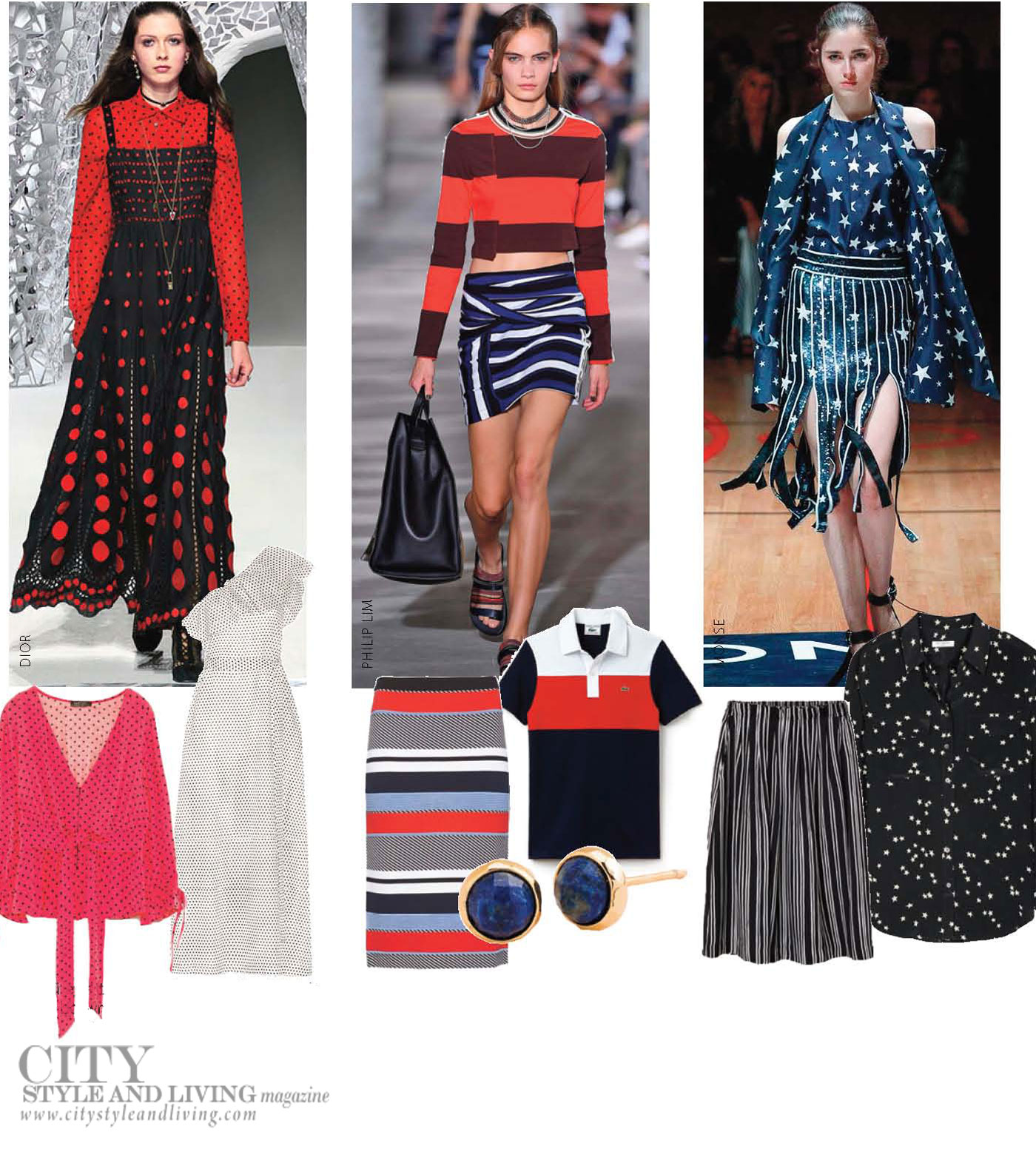 City Style and Living Magazine Fashion Summer 2018 Fresh off runway
