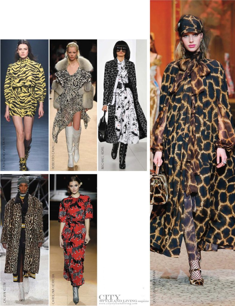City Style and Living Magazine Fall 2018 trends leopard print