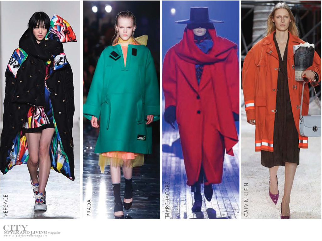 City Style and Living Magazine Fall 2018 trends oversize outerwear