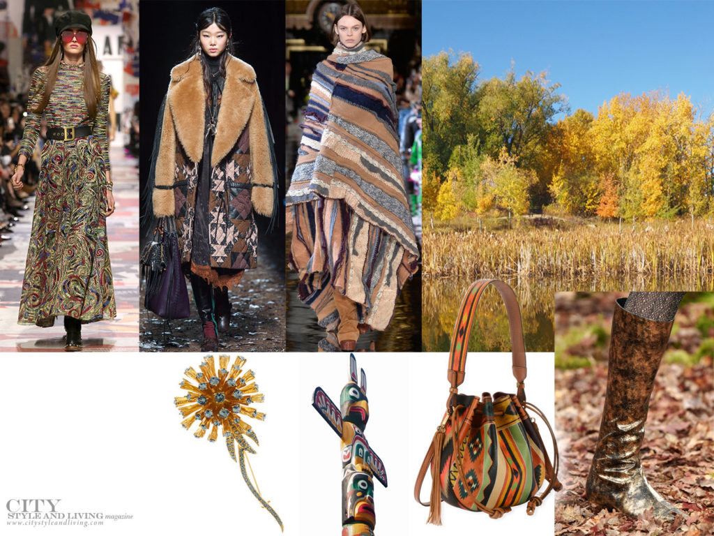City Style and Living Magazine Fall 2018 Fashion Trends Folkstory