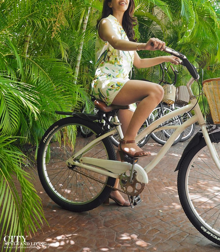 City Style and Living Magazine Summer 2018 Healthy Living Girl on Bike