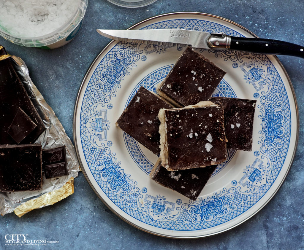 City Style and Living Magazine Fall 2018 recipes Millionaire Shortbread