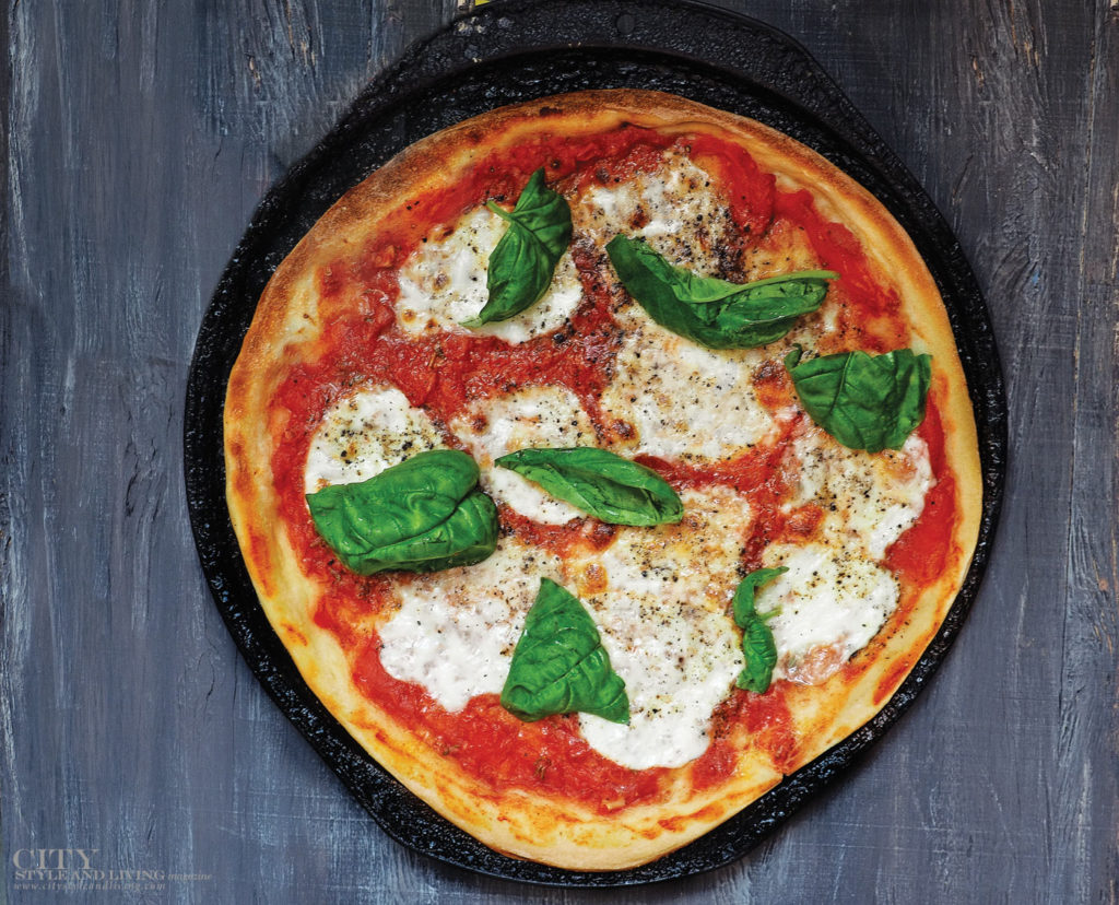City Style and Living Magazine Fall 2018 San Marzano Tomato Margherita Pizza