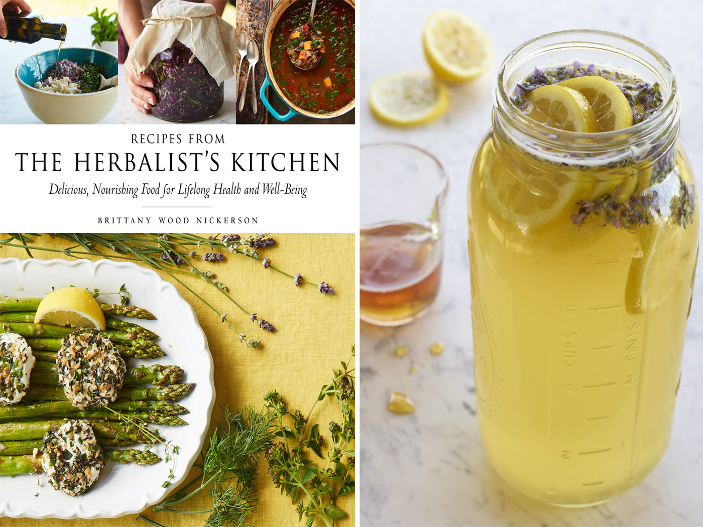 City Style and Living Magazine Winter 2018 Herbalists kitchen lavender fizz