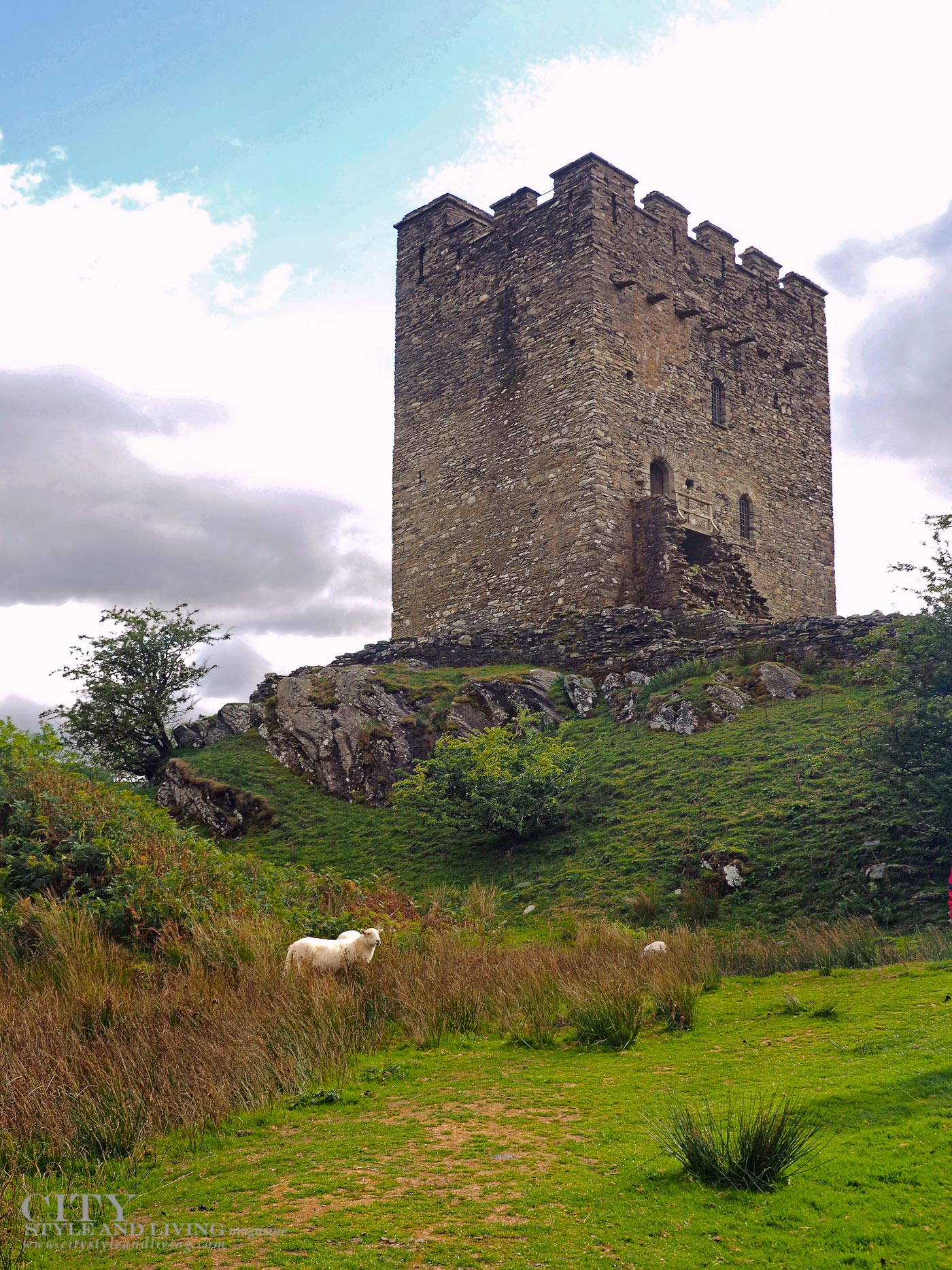 City Style and Living Magazine Winter 2018 Travel Wales Dolywydden Castle