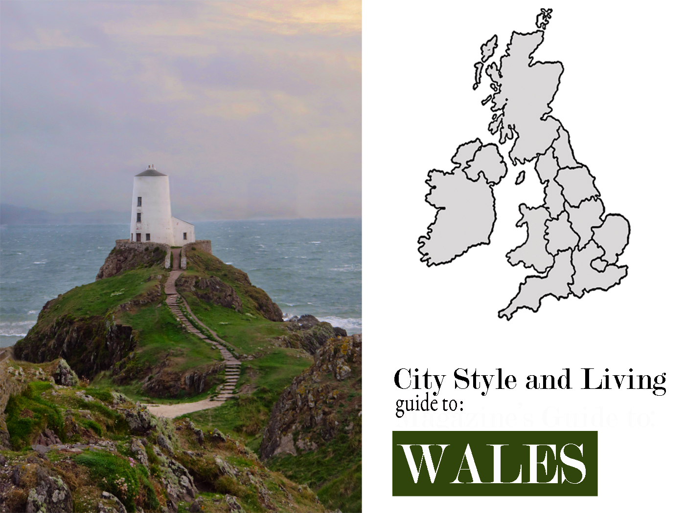 City Style and Living Magazine Winter 2018 Travel Guide To Wales