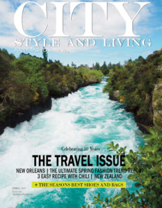 City Style and Living Magazine coverr Spring 2017