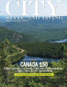 City Style and Living Magazine Cover Summer 2017