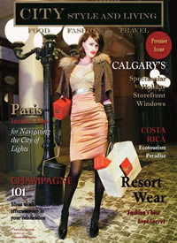 City Style and Living Magazine Cover Winter 2007/2008