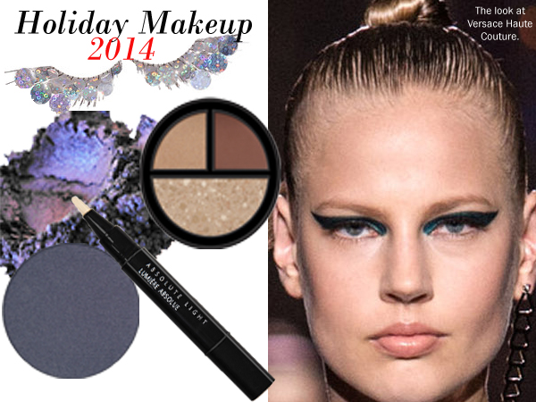 Achieve this season's holiday eye makeup look.