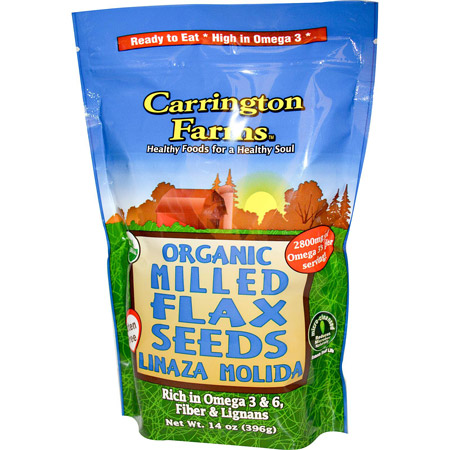 Carrington Farms Milled Flax Seeds