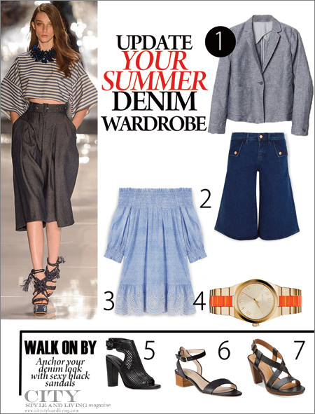 Update Your Summer Denim Wardrobe_CityStyleandLivingMagazine