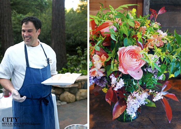 City Style and Living Magazine Simi Winery, dragonfly floral healdsburg