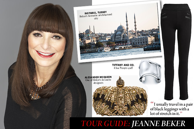 Jeanne Beker travel Q&A city style and living magazine