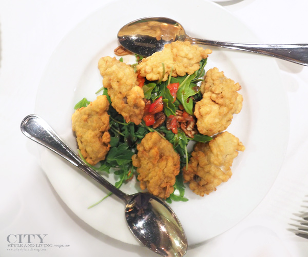 City style and living magazine recipe Southern Fried Oysters