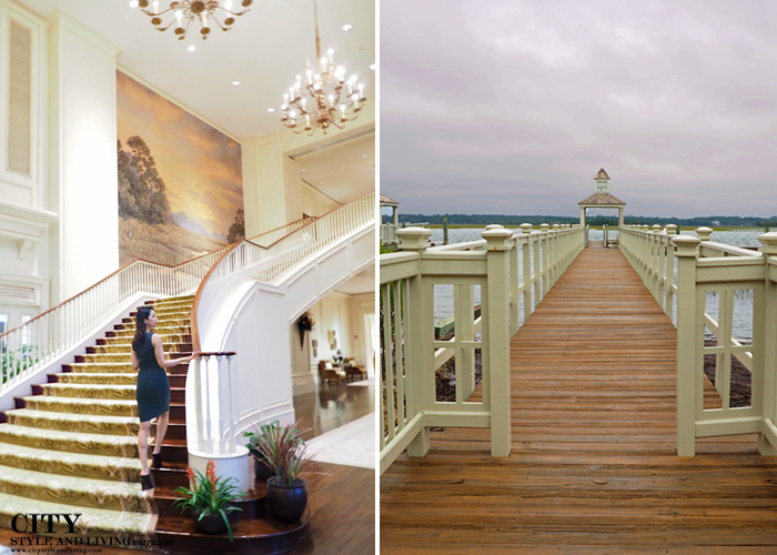 City style and living magazine style fashion blogger Kiawah island south carolina stairs 2