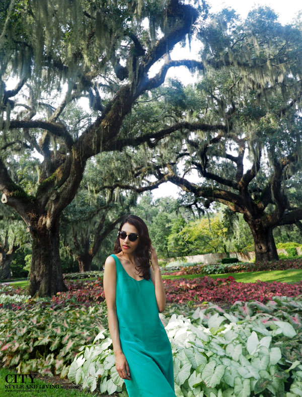City style and living magazine style fashion blogger myrtle beach brookgreen gardens style blogger live oak alley