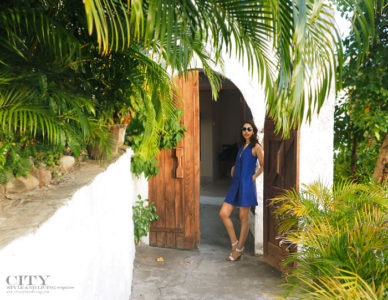 City style and living magazine style fashion blogger Saint lucia Armani exchange anse chastanet pool suite 1