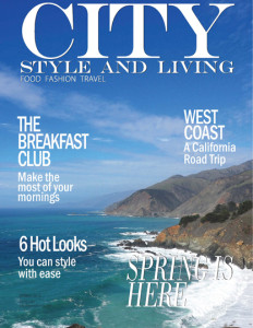 City Style and Living Magazine spring 2016