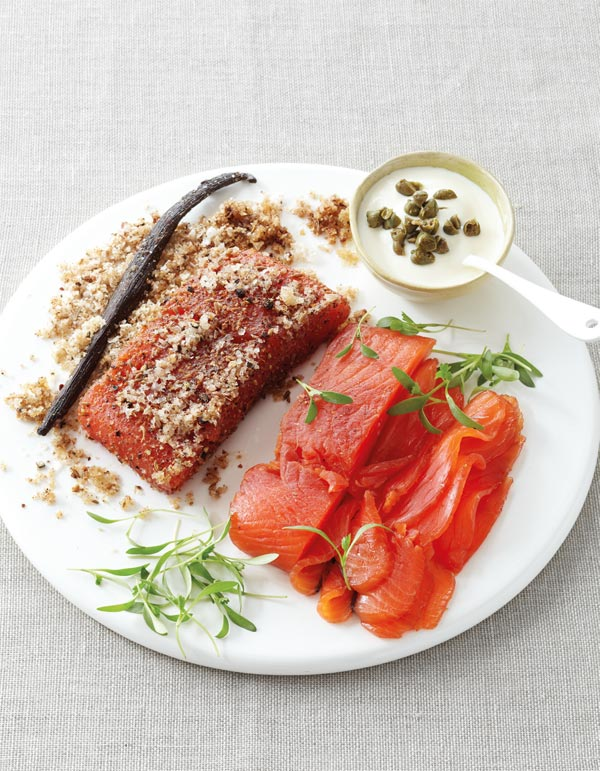 Rum-and-Vanilla-Cured-Salmon