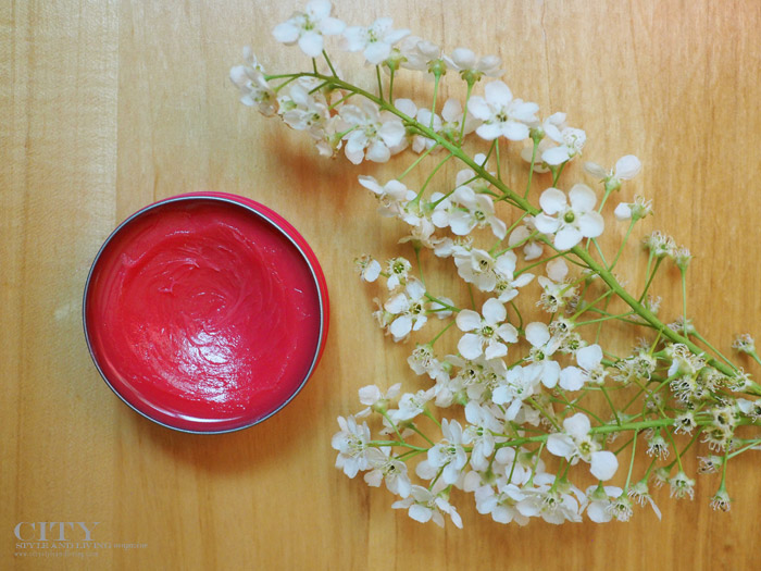 city style and living natural lip balm beauty
