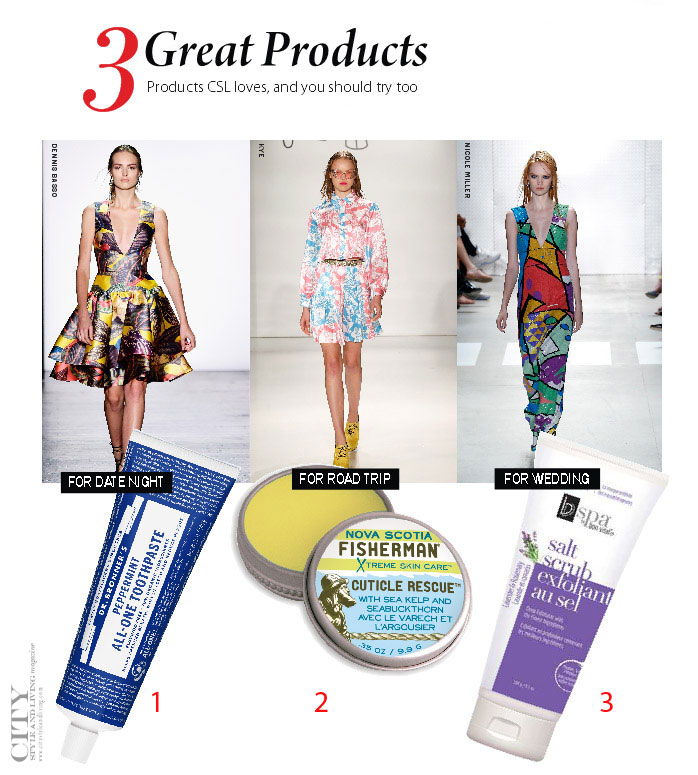 City Style and Living Magazine favourite beauty products summer 2016