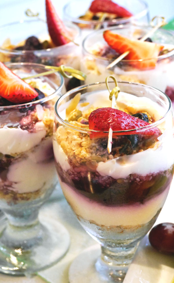 city style and living oatmeal parfait recipe easy