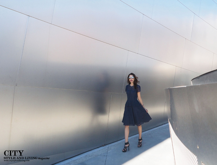 City Style and Living Magazine style blogger Disney Concert Hall Banana Republic