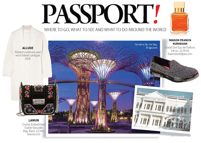 City Style and Living Magazine travel essentials editors singapore