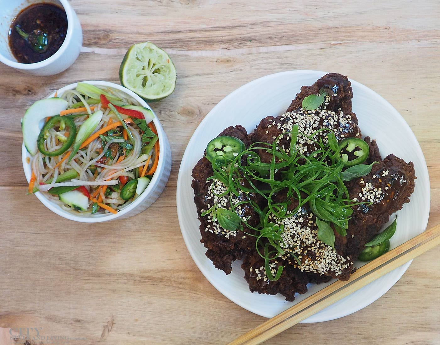 city style and living magazine recipe easy asian slaw
