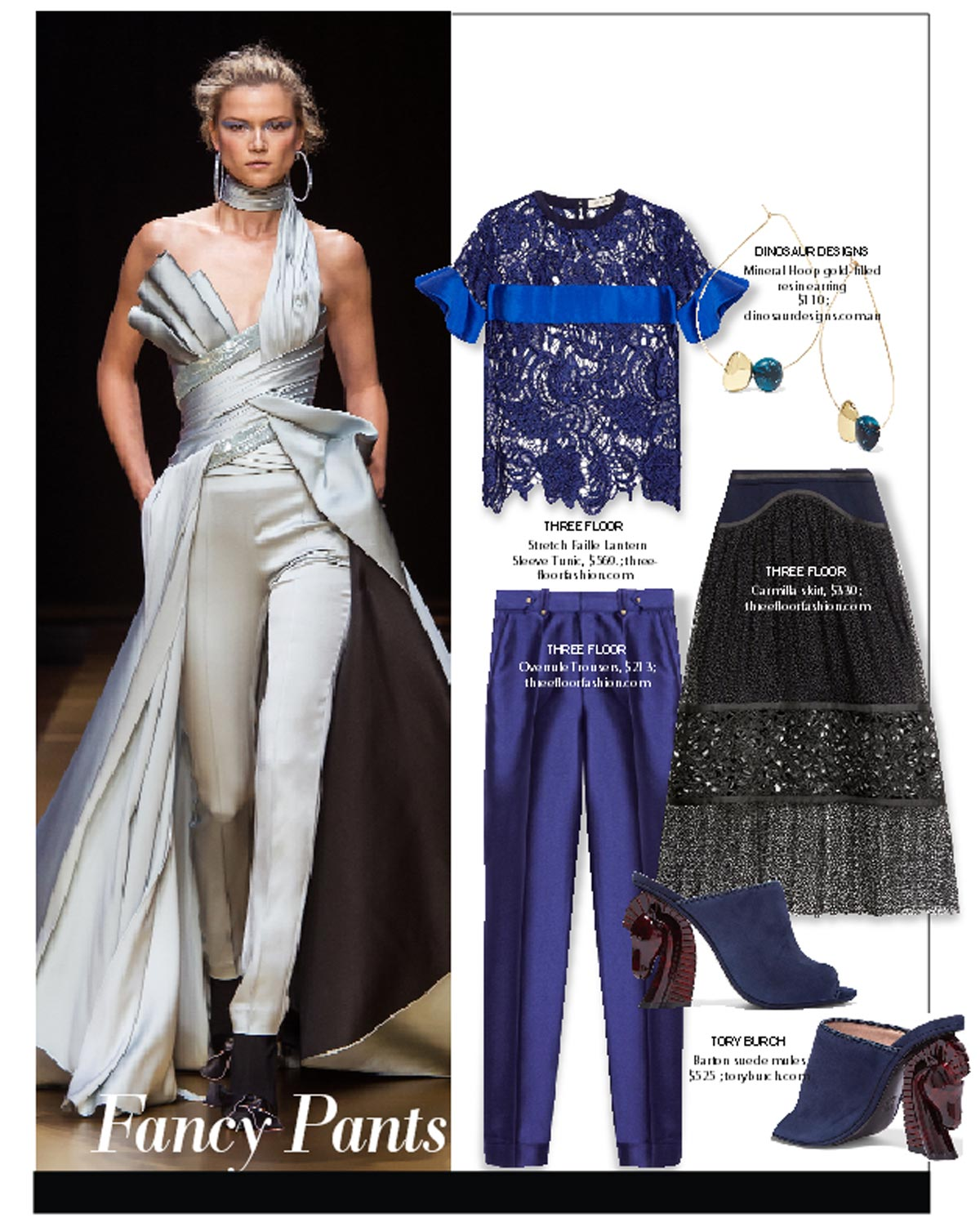 city style and living magazine Holiday Party Dressing Winter 2016 Fancy pants