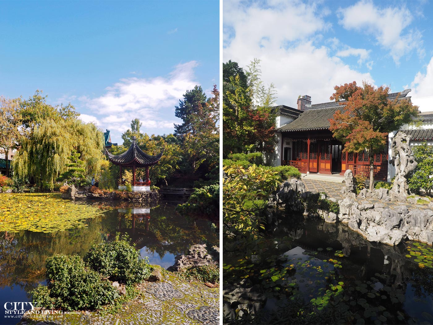 City Style and Living Magazine dr sat yuen sen chinese Gardens in vancouver