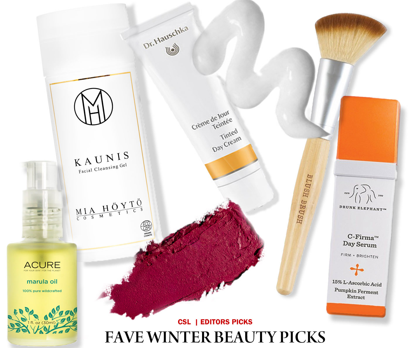City Style and Living Magazine editors favourite eco beauty products for winter 2016/17
