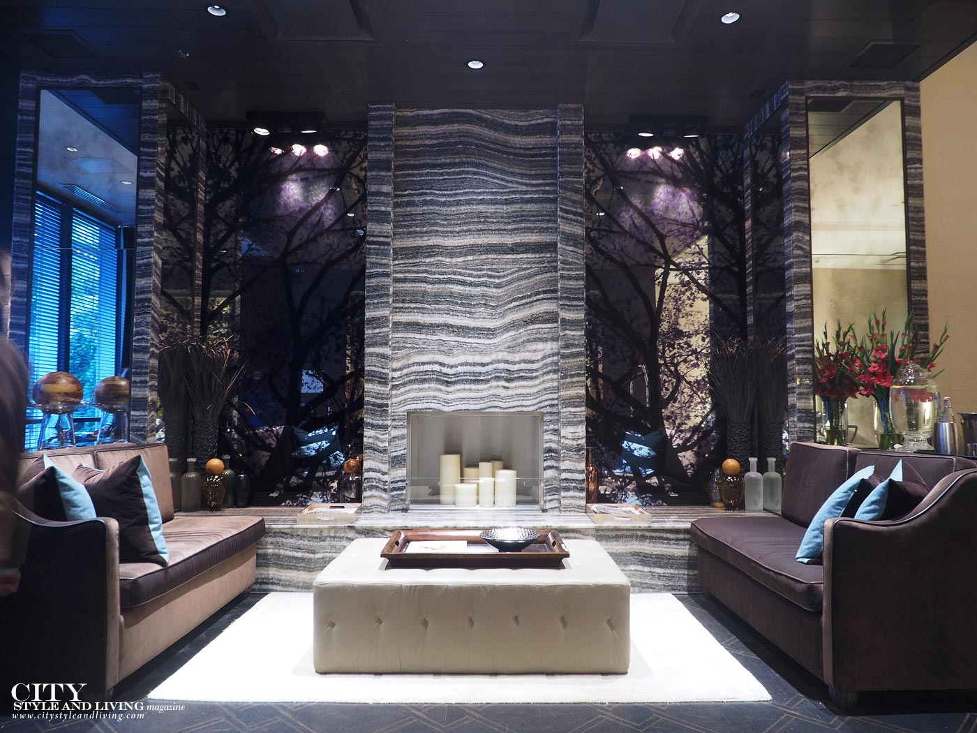 City Style and Living Magazine The Loden Vancouver lobby