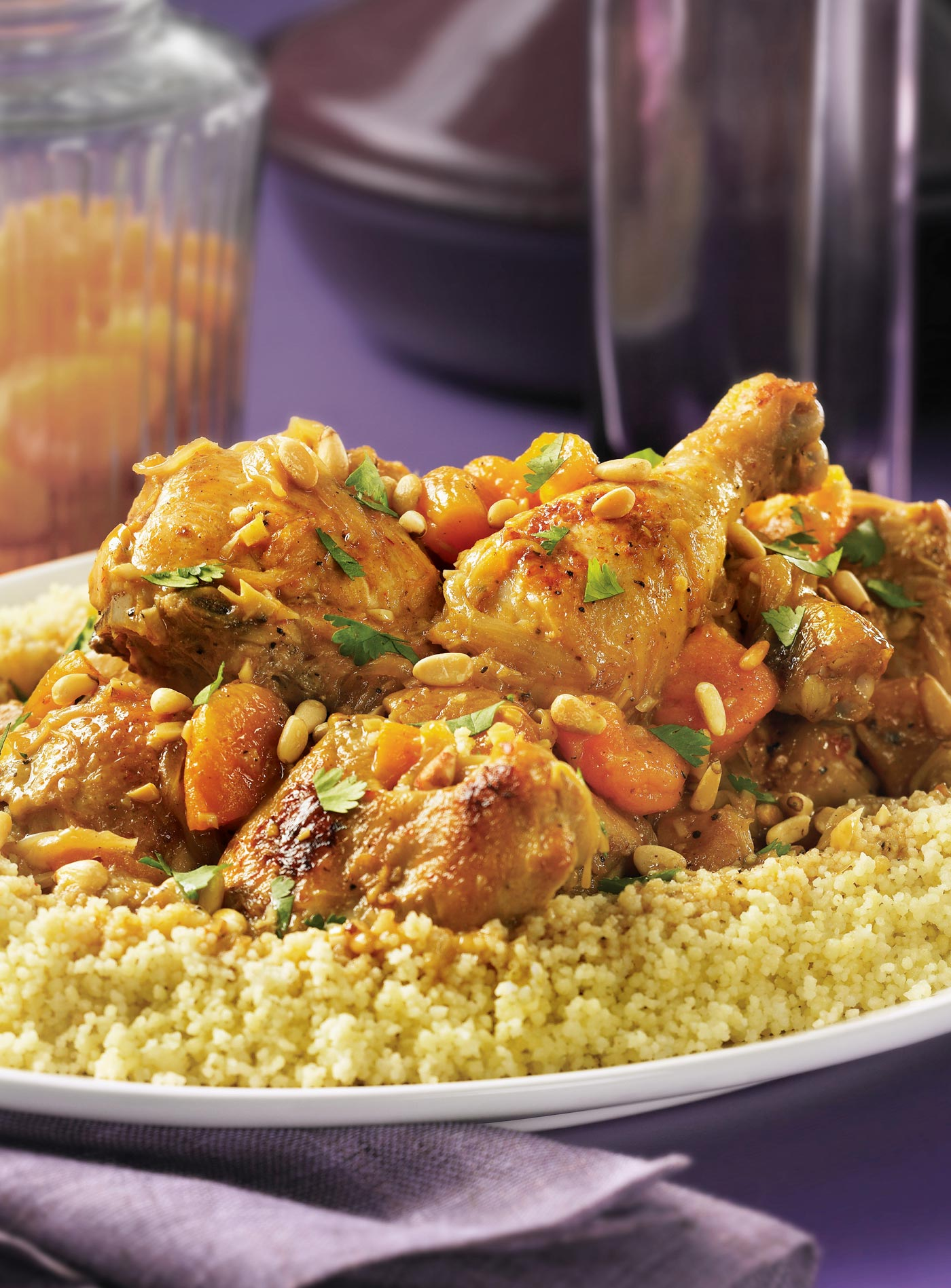 City Style and Living Tagine of Chicken with Apricot Chile Pepper Bible