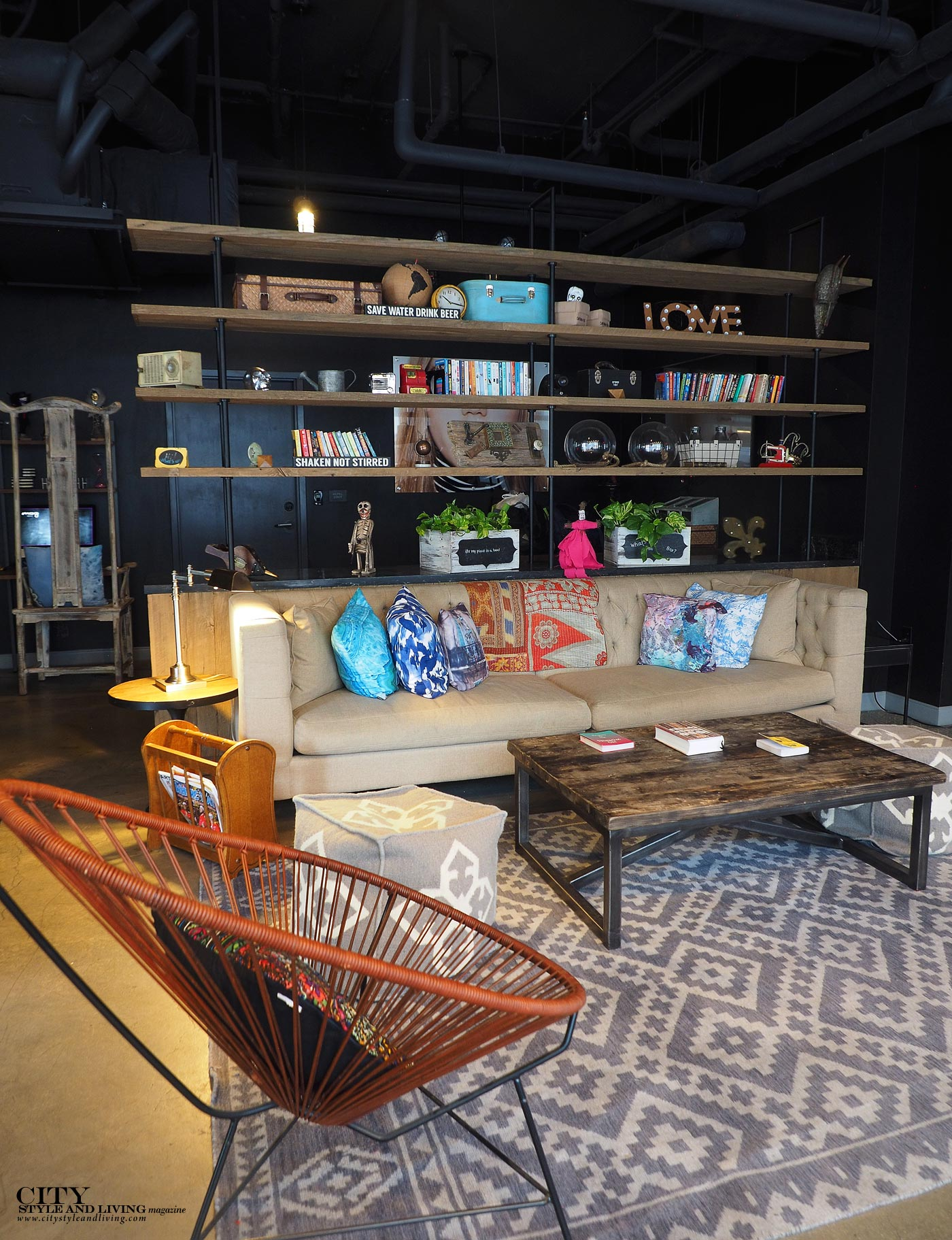 City Style and Living Moxy New Orleans Living Room Decor