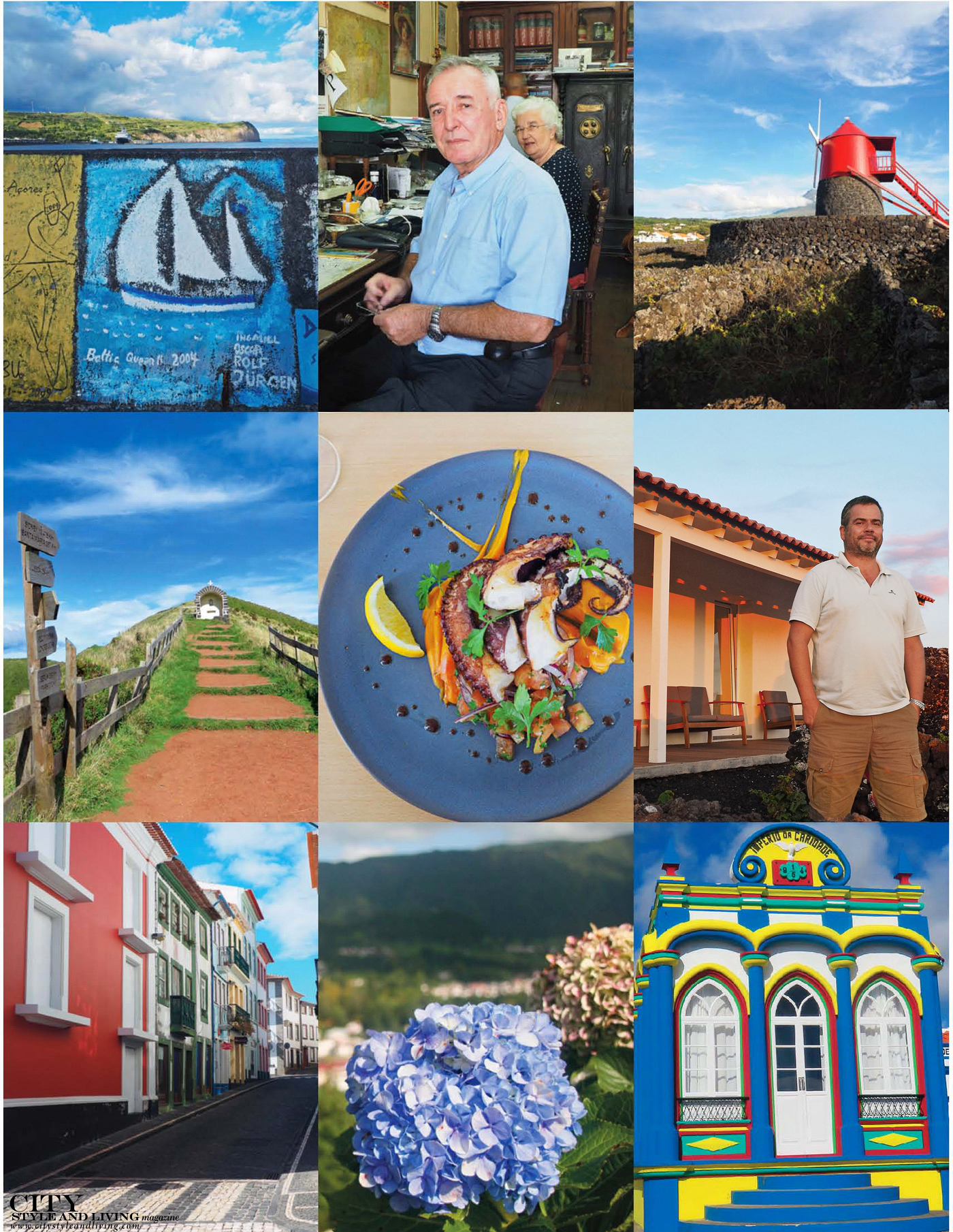 City Style and Living Magazine Travel The Azores Portugal Collage 2