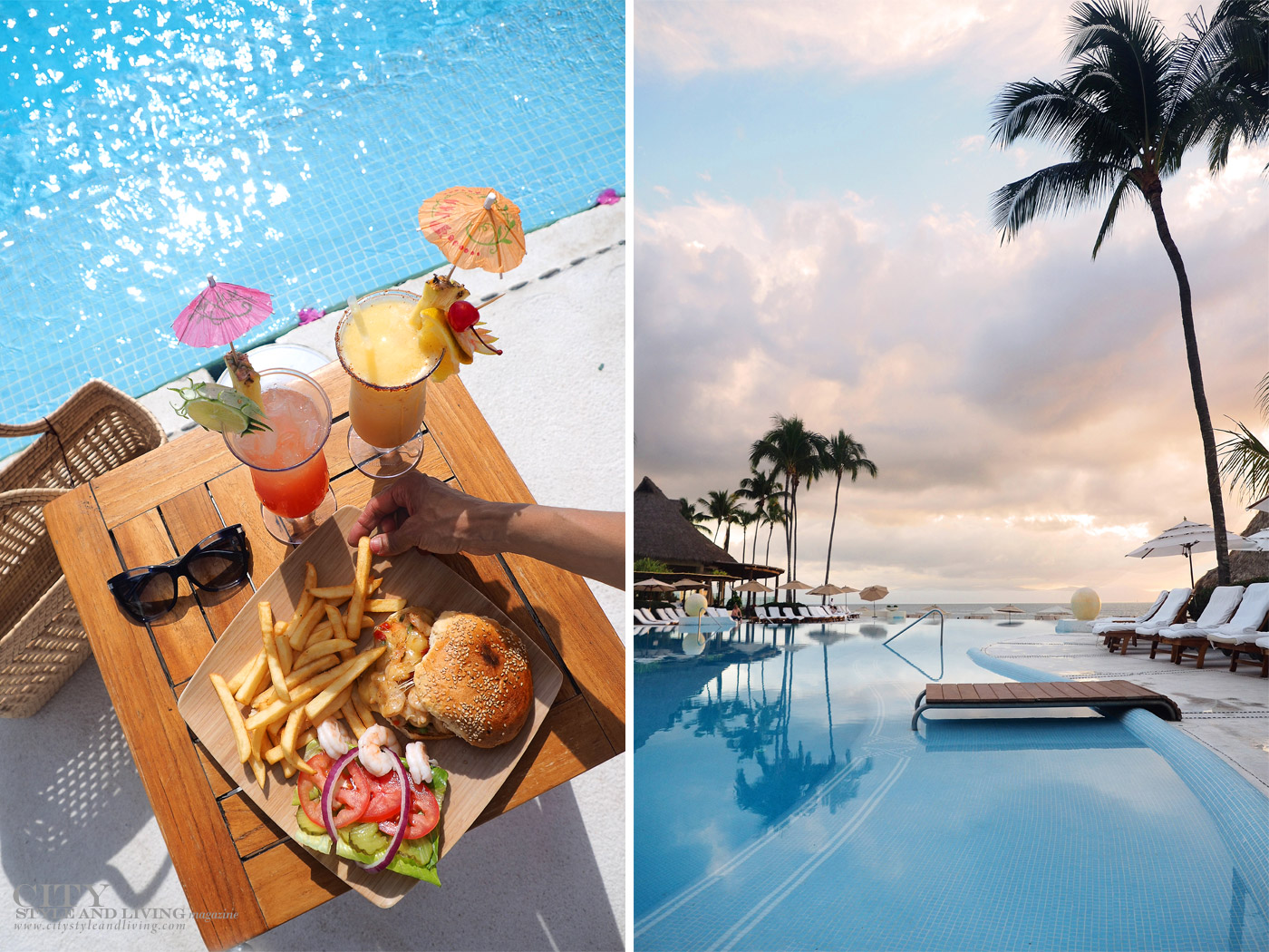 City Style and Living Magazine Grand Velas Pool