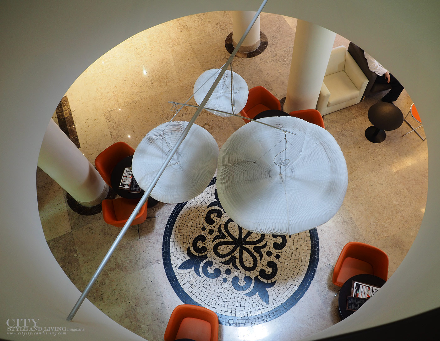 City Style and Living Magazine Travel Portugal Hotel Mercure centro porto lobby