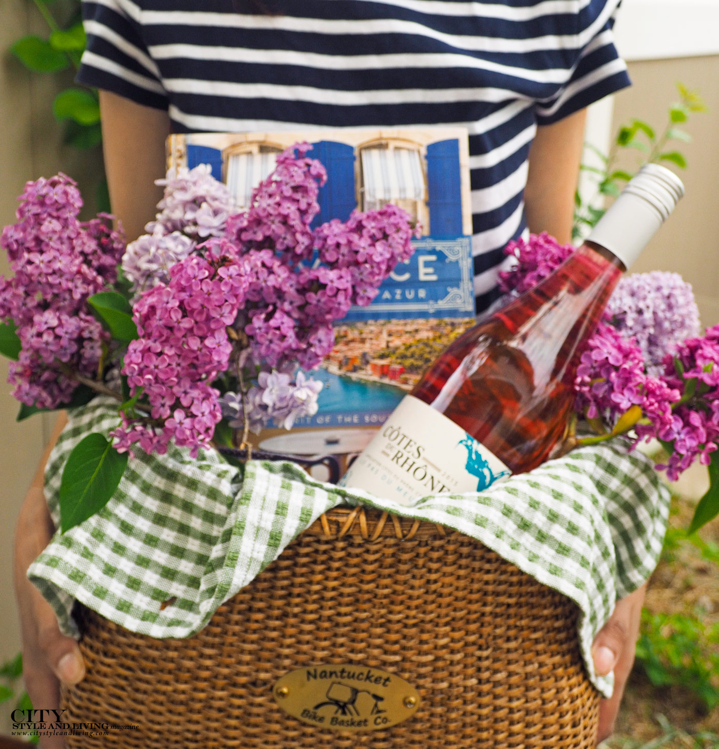 City Style and Living Magazine Editors Letter Spring 2018 Spring Basket