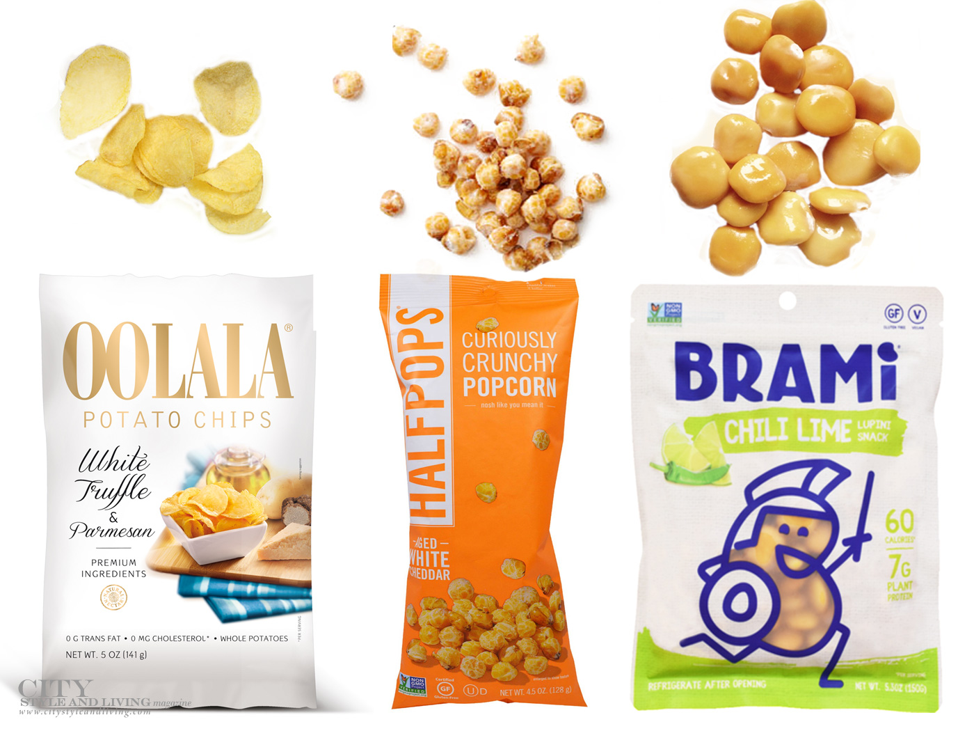 City Style and Living Magazine Food Products we love Summer 2018 snacks