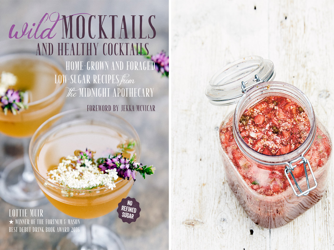 City Style and Living Magazine wines and spirits Summer 2018 meadow sweet wild cocktail