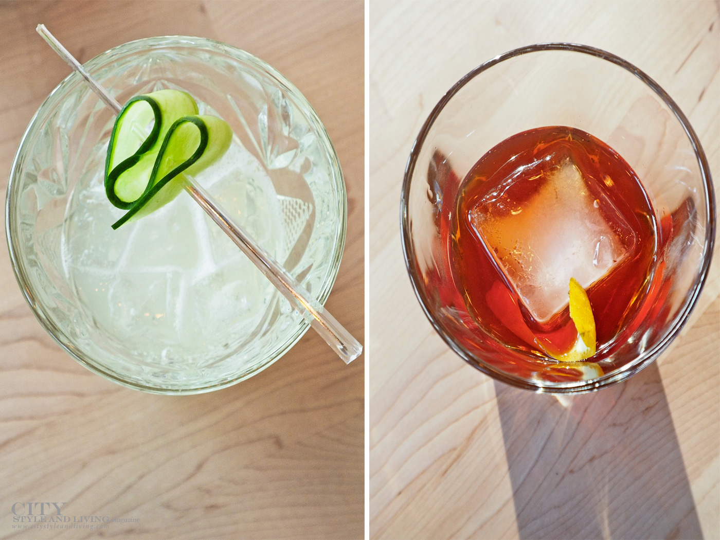 City Style and Living Magazine Imbibe wines and spirits non alcoholic gin and tonic and old fashioned