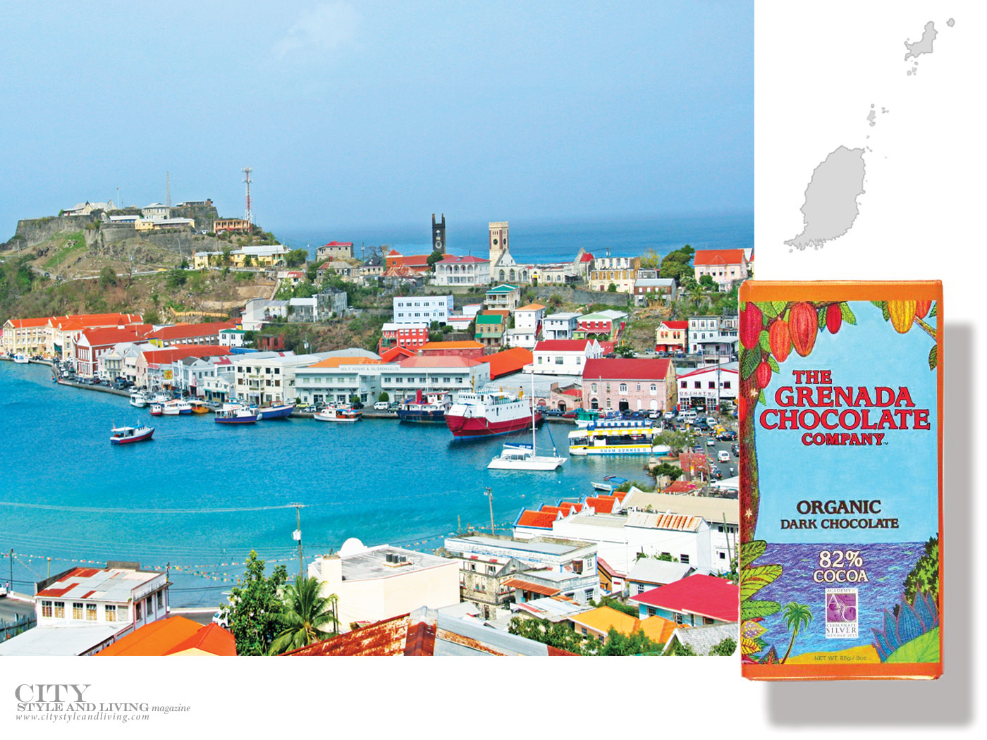 City Style and Living Magazine Fall 2018 Travel Souvenirs grenada chocolate