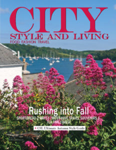 City Style and Living Magazine Covwer Fall 2018