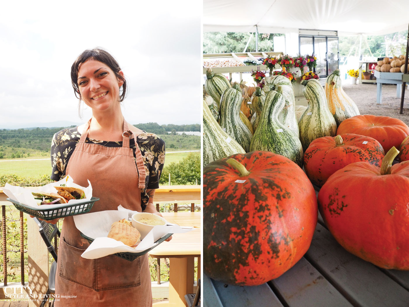 City Style and Living Magazine Fall 2018 Farmers Market how to