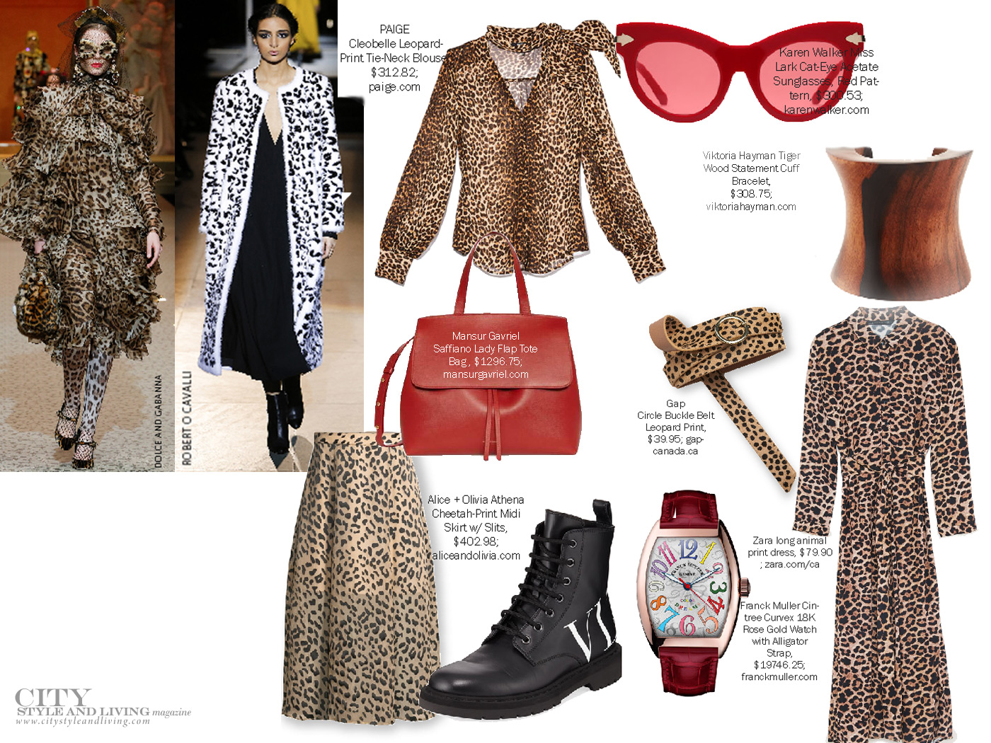 City Style and Living Magazine Fall 2018 Fashion Trends Meow Mix